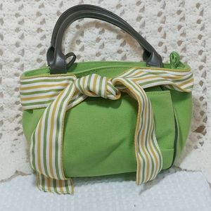 Fortuna Valentino Bright Green Satchel